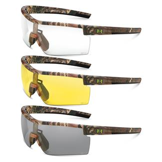 Under Armour Freedom Satin Realtree Gray / Clear / Yellow 3 Lenses