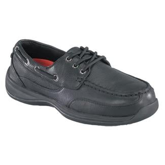 Rockport Works Sailing Club Boat Shoe ST Black