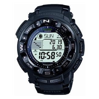 Casio Tactical Pro Trek Solar Atomic PRW2500-1A Black