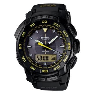 Casio Tactical Pro Trek Tough Solar PRG550-1A9 Black