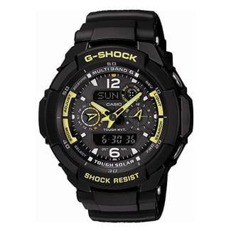Casio Tactical G-Shock G-Aviation GW3500B-1A Black