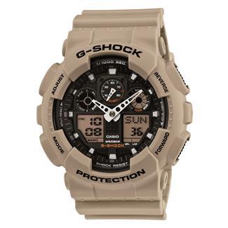 Casio Tactical G-Shock Military GA100SD-8A Sand