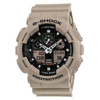 Casio Tactical Tactical G-Shock XL-G GA100 Sand