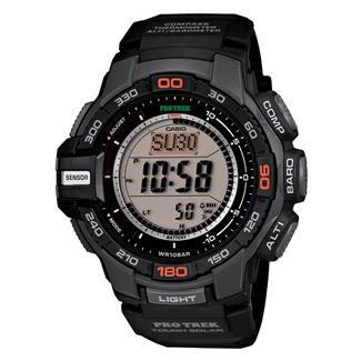 Casio Tactical Pro Trek Tough Solar PRG270-1 Black