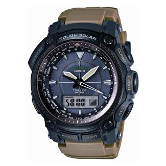 Casio Tactical Pro Trek Solar Atomic PRW5050BN-5 Black