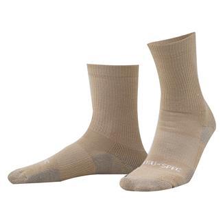"""Tru-Spec 6"""" Tactical Performance Socks Tan"""