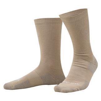 """Tru-Spec 9"""" Tactical Performance Socks Tan"""
