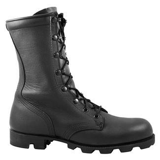 """McRae 10"""" All-Leather Combat Panama Black"""