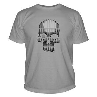 5.11 Bullet Skull T-Shirt Cinder