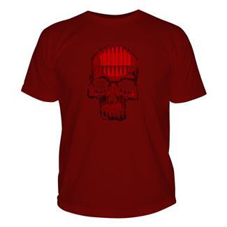 5.11 Bullet Skull T-Shirt Cardinal
