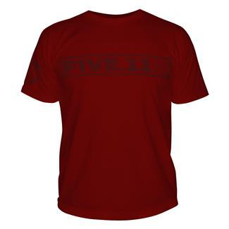 5.11 Pulling Rank T-Shirt Cardinal