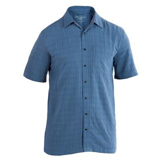 5.11 Short Sleeve Covert Shirts Select Cadet Blue