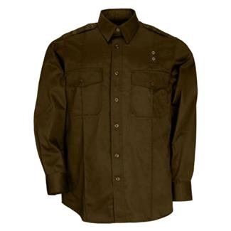 5.11 Long Sleeve Taclite PDU Class A Shirts Brown