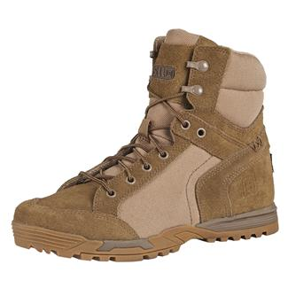 "5.11 6"" Pursuit Advance Boots Dark Coyote"