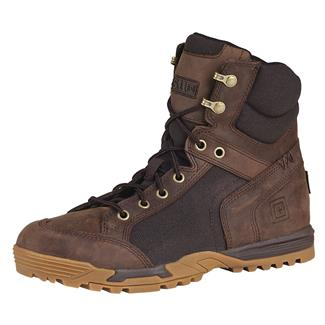 "5.11 6"" Pursuit Advance Boots Distressed Brown"