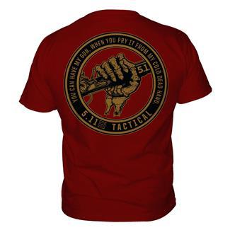 5.11 Cold Hands T-Shirts Cardinal