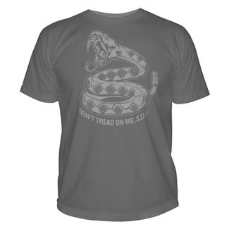 5.11 Don't Tread on Me T-Shirts Charcoal