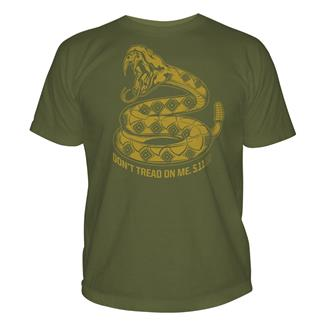 5.11 Don't Tread on Me T-Shirts OD Green
