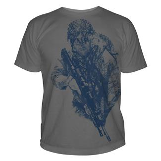 5.11 Hidden Hunter T-Shirts Charcoal