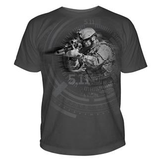 5.11 Night Vision T-Shirts Charcoal