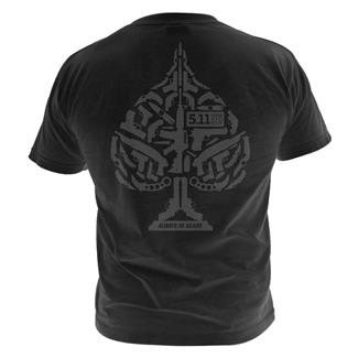 5.11 Ace of Blades T-Shirts Black