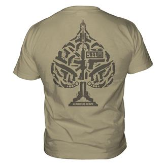 5.11 Ace of Blades T-Shirts Tan