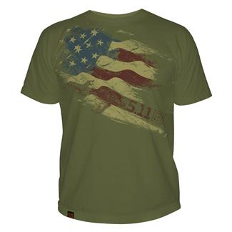 5.11 Still There T-Shirts OD Green