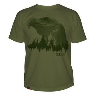5.11 Treeline T-Shirts OD Green