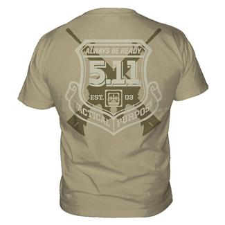 5.11 Victor T-Shirts Tan
