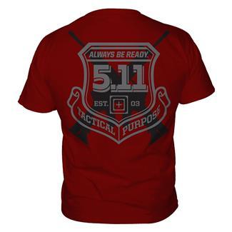 5.11 Victor T-Shirts Cardinal