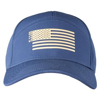5.11 Stars and Stripes Hats Navy