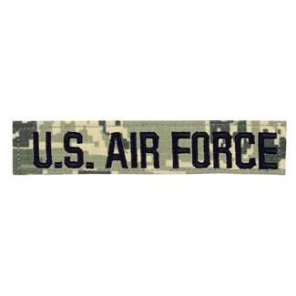 U.S. Air Force Branch Tape Digital Tiger Ripstop