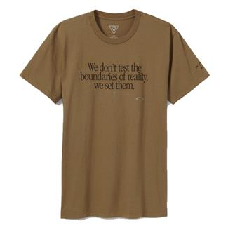 Oakley Boundaries Tee Coyote
