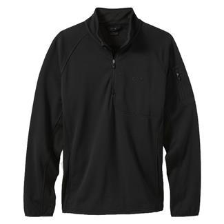 Oakley Hydrofree 1/4 Zip Fleece Jacket Jet Black