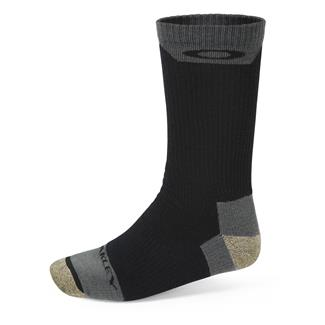 Oakley Performance Wool Crew Socks Black