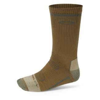 Oakley Performance Ohydrolix Crew Socks Coyote