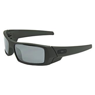 Oakley SI Gascan Cerakote Mil Spec Green (frame) - Black Iridium Polarized (lens)