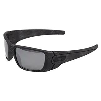 Oakley Fuel Cell Cerakote Limited Edition Ultrablend Black (frame) - Black Iridium Polarized (lens)