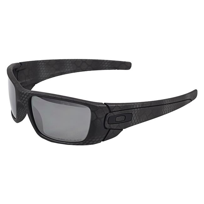 Oakley Fuel Cell Cerakote Limited Edition Ultrablend Black VR28 Black Iridium Polarized