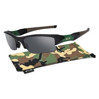 Oakley SI Flak Jacket Matte Black Black Iridium Polarized