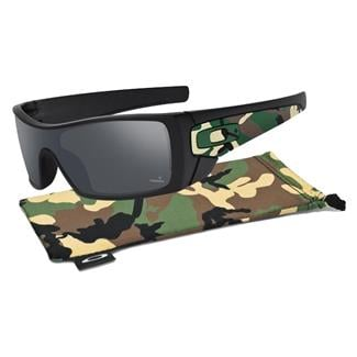 Oakley SI Batwolf CT Black Iridium Polarized Matte Black