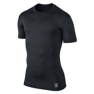 NIKE Pro Combat Core Compression SS Shirt Black