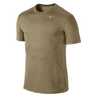 NIKE Pro Combat Core Fitted Shirt Grain