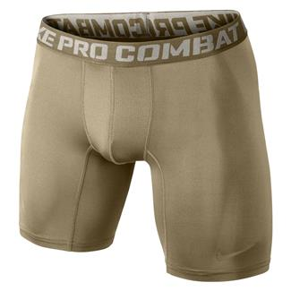 NIKE Pro Combat Core Compression Shorts Grain