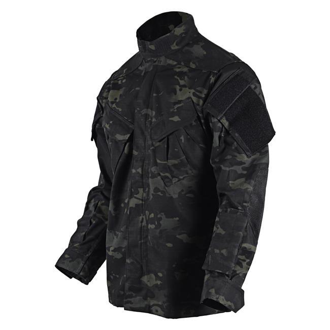 Tru-Spec Nylon / Cotton Ripstop TRU Xtreme Uniform Shirt Multicam Black
