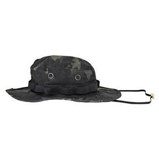 Tru-Spec Nylon / Cotton Ripstop Boonie Hat MultiCam Black