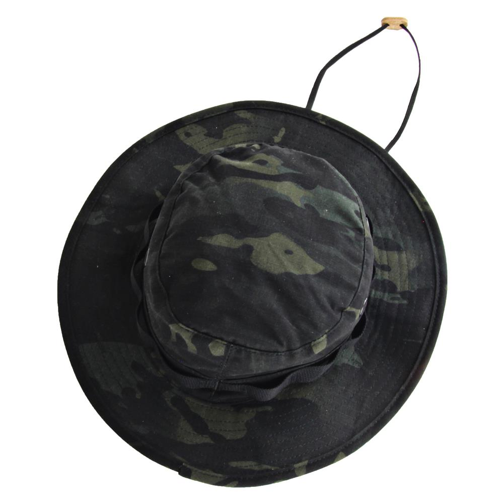 Black Nylon Boonie Hat 20