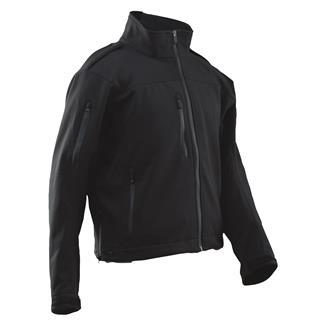 24-7 Series Short LE Softshell Jacket Black