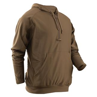 24-7 Series Grid Fleece Hoodie Coyote