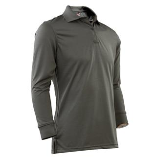 24-7 Series Long Sleeve Performance Polo Classic Green